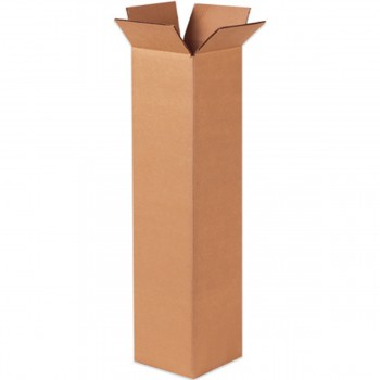 "Double Wall Cardboard Tall Box 508 x 153 x 102 mm (20x6x4"")"