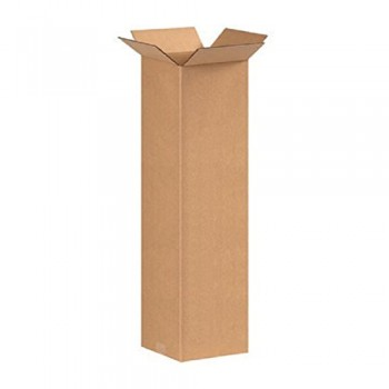 "Double Wall Cardboard Tall Box 102 mm x 102 mm x 330 mm (4x4x13"")"