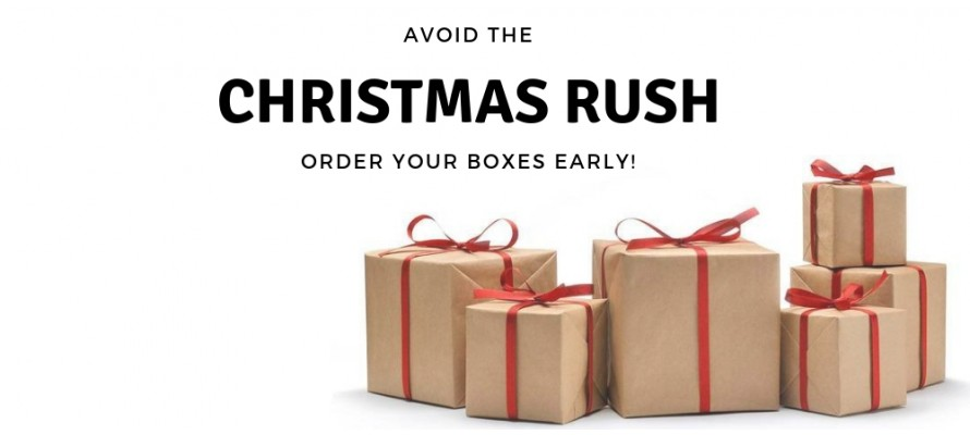 Avoid the Christmas Rush!