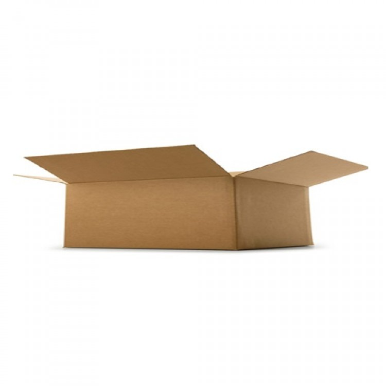 "Single Wall Cardboard Box - 305 mm x 229 mm x 102 mm (12x9x4"")"