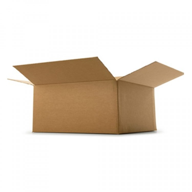 "Single Wall Cardboard Box 5"" x 5"" x 2.5"" (127 mm x 127 mm x 65 mm)"