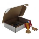 "5.5 x 4.4 x 1.3"" (140 x 112 x 33mm) Subscription Small White Box"