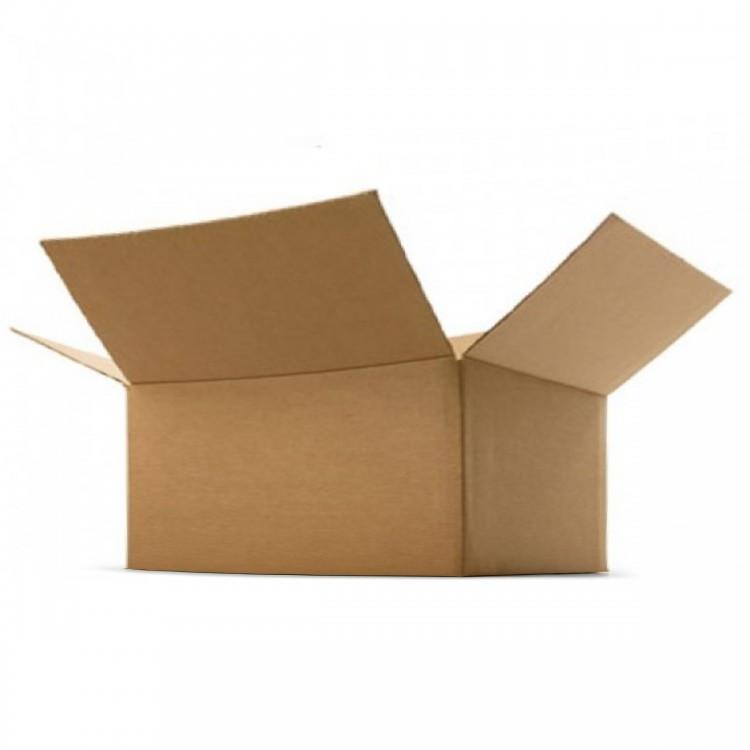 """Single Wall Cardboard Boxes 225mm x 225mm x 103mm (8.8x8.8x4"""")"""