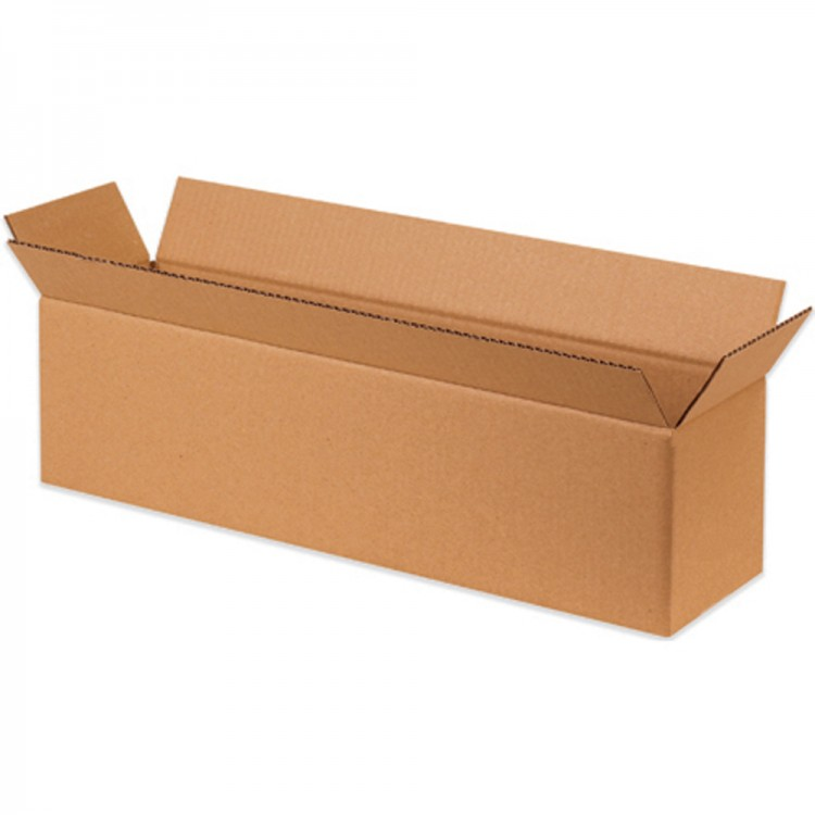 "Double Wall Cardboard Box 508 x 153 x 102 mm (20x6x4"")"