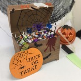 Halloween Treasure Chest Decoration Box