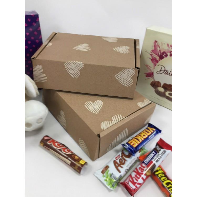 Single Wall Lidded Cardboard Gift Box 254mm x 178mm x 77mm (SW1073_GIFTBOX)