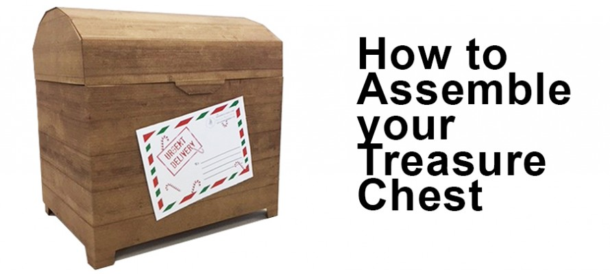Treasure Chest Assembly Instructions