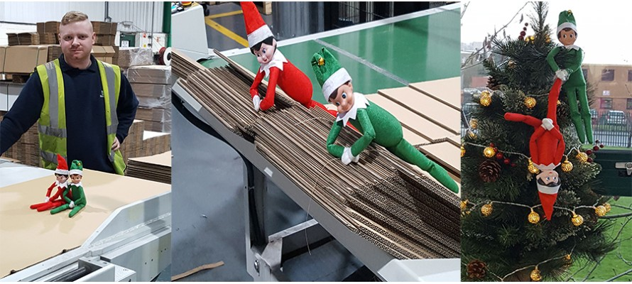 Naughty elves are at it again!