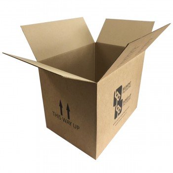 "Double Wall Cardboard Boxes - Printed - 18x13x13"" (457mm x 330mm x 330mm)"