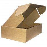 """Single Wall Lidded Cardboard Postal Presentation Box 10x7x3"""" - 254mm x 178mm x 77mm"""