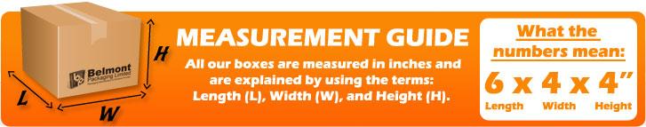 cardbox box measurement guide